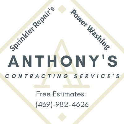 Avatar for Anthony's Sprinklers Repair