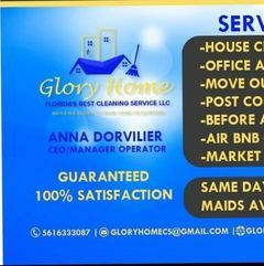 Avatar for Glory Home Florida's Best Cleaning Services LLC