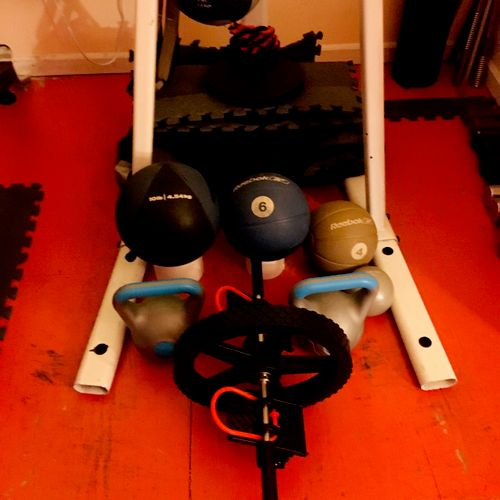 Other challenging equipment to make workouts even more intense!