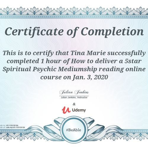 How to deliver a 5 Star Spiritual Psychic Mediumship reading