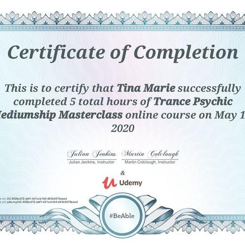 Trance Psychic Mediumship Masterclass