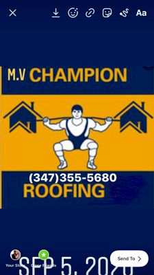Avatar for M.V Champion Roofing