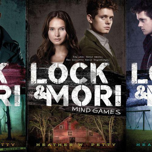 Book Covers - Lock & Mori trilogy