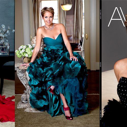 Katie Couric - Avenue Magazine Editorial + Cover
