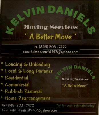 Avatar for KELVIN DANIELS MOVING SERVICES