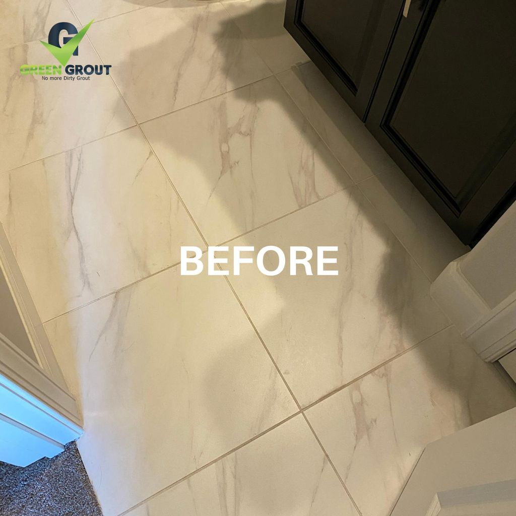 Tile and Grout Cleaning and Color Sealing Restoration