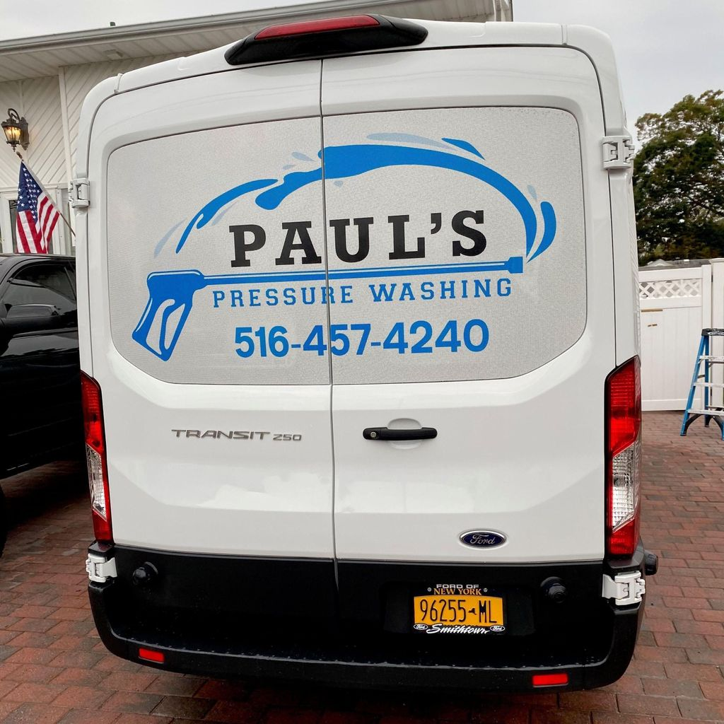 Paul's Pressure washing Inc