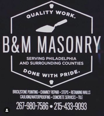 Avatar for B&M Masonry