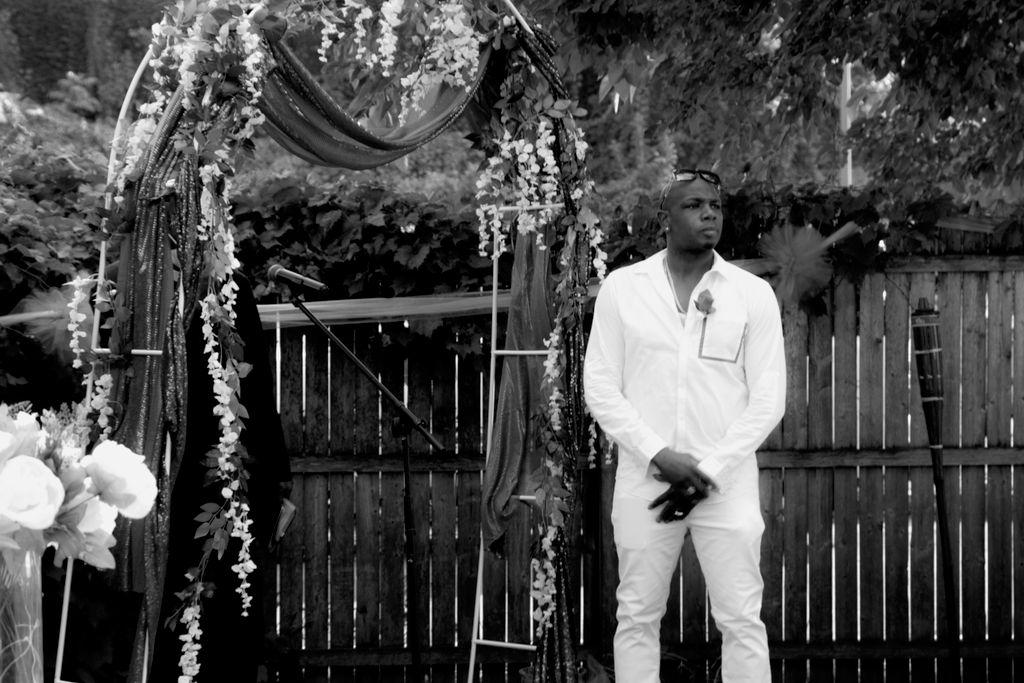 Jermaine & Martecia Intimate Wedding