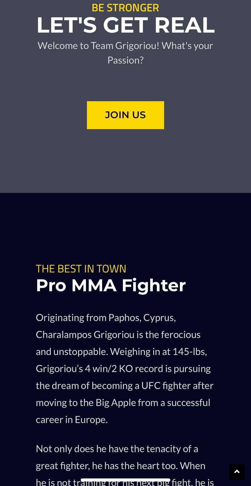 The Ferocious Fighter Website