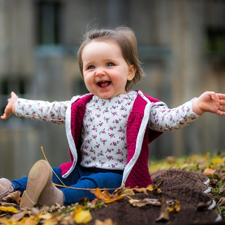 Autumn themed 1yr old portraits