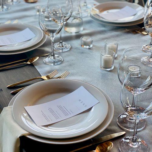 Breckenridge, CO wedding & menu design