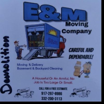 Avatar for E & M DEMOLITION REMOVAL SERVICES