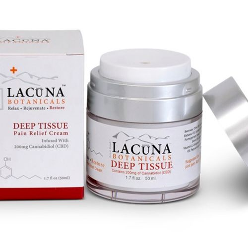 CBD Pain Relief Cream Lacuna Botanicals