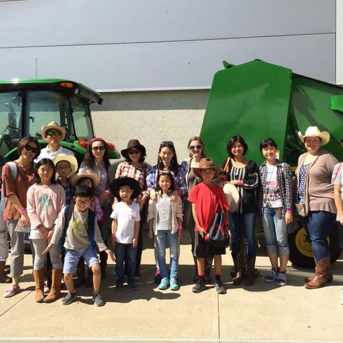 English Immersion trip to the Houston Rodeo