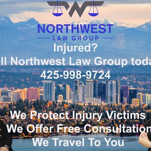 Injured? Called Northwest Law Group today!