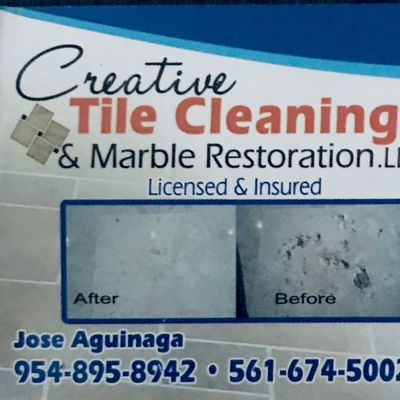 Avatar for Creative tile cleaning and marble restoration, LLC