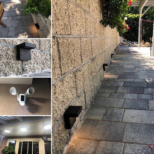 Landscape lighting / security lighting