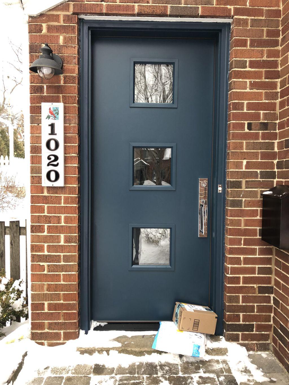 Blue Color Door