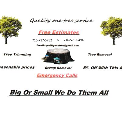 Avatar for Quailty One tree service