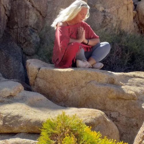 Intentions before Giving a Reiki Session in Joshua Tree National Park
