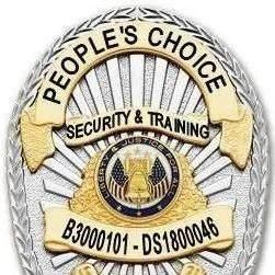 Avatar for PEOPLE'S CHOICE SECURITY & TRAINING, LLC