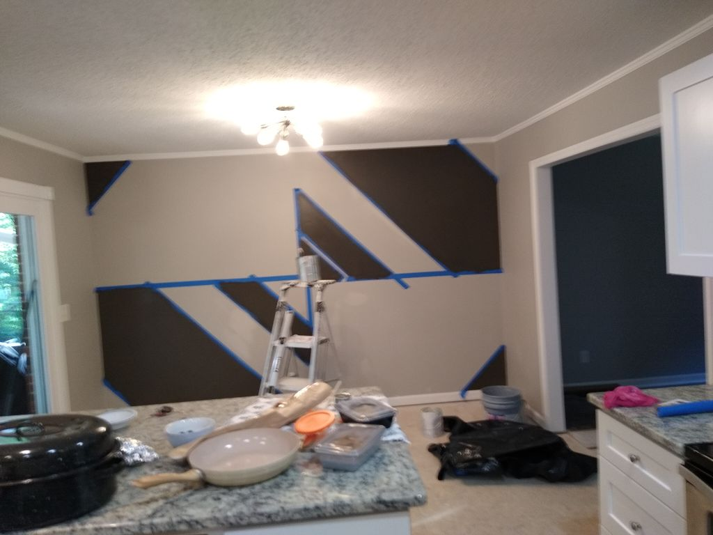 Interior paint design painting cindy duck