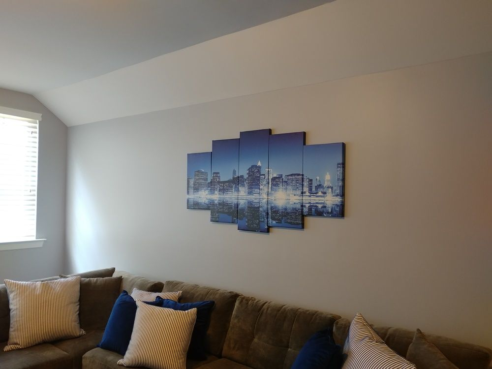 Picture Hanging and Art Installation - Charlotte 2020