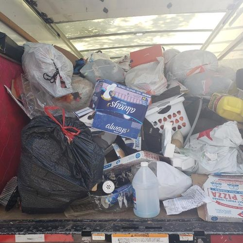 Fill up our moving truck with misc junk!