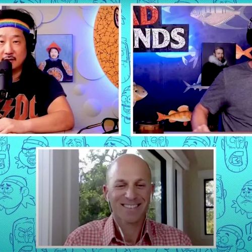 """Jason was a featured hypnotherapist on the famous """"Bad Friends"""" podcast helping comedian Bobby Lee quit smoking."""