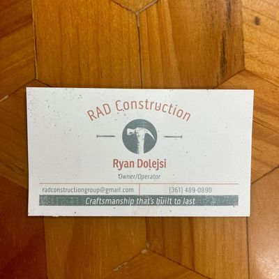 Avatar for RAD Construction Group