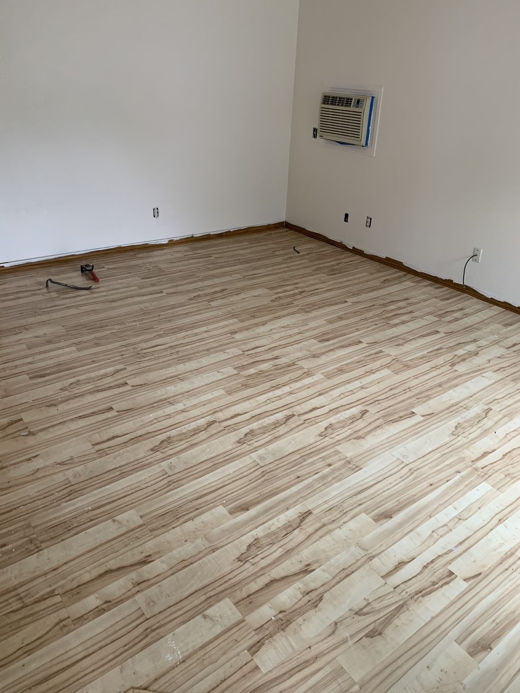 Full home flooring and trim upgrade