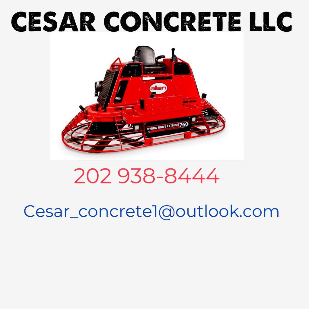 Cesar Concrete LLC