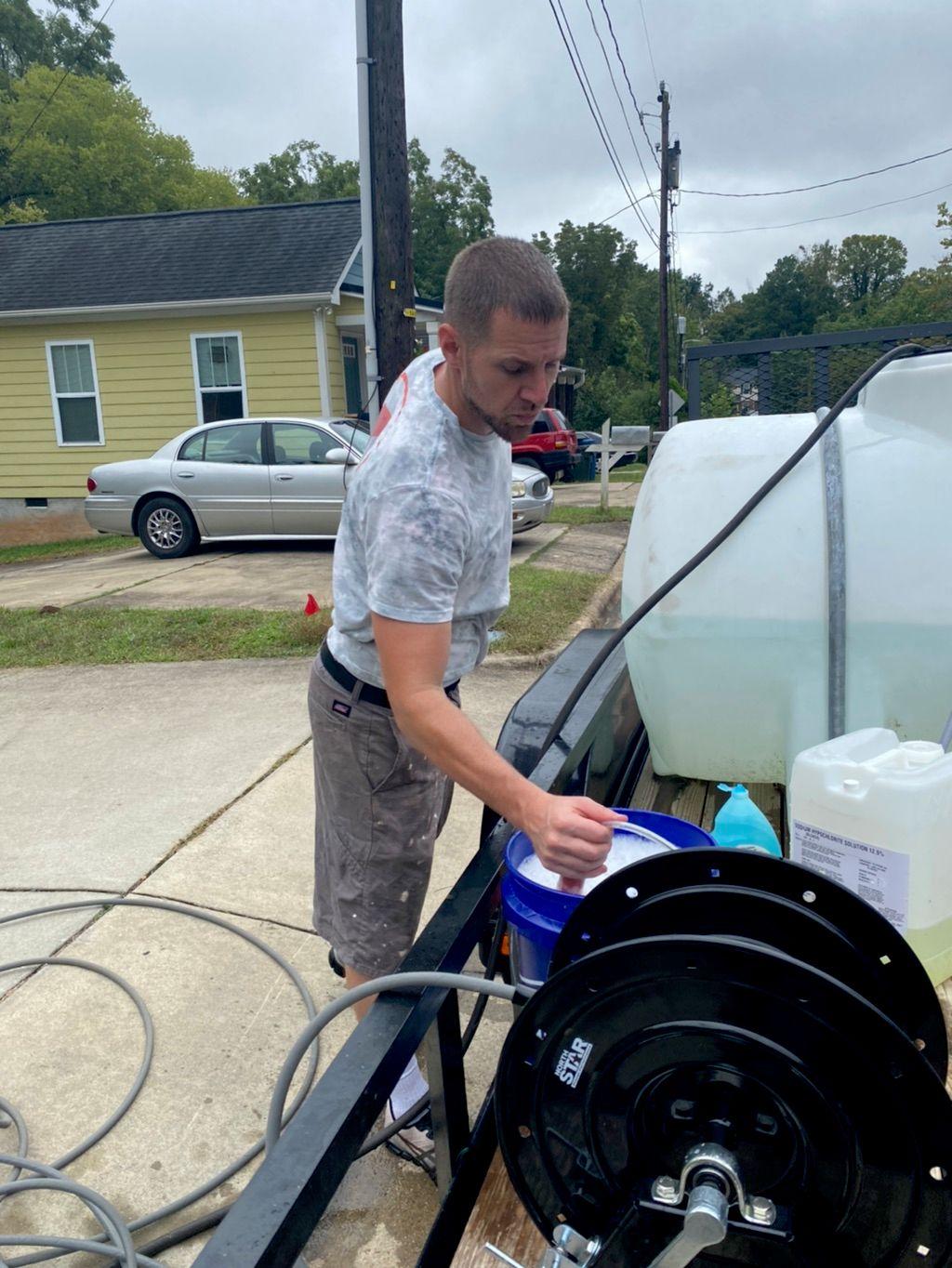 NC Drip Pressure Washing