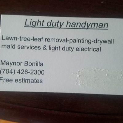 Avatar for light duty Handyman llc