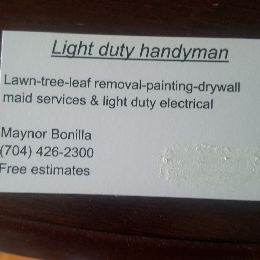 light duty Handyman llc