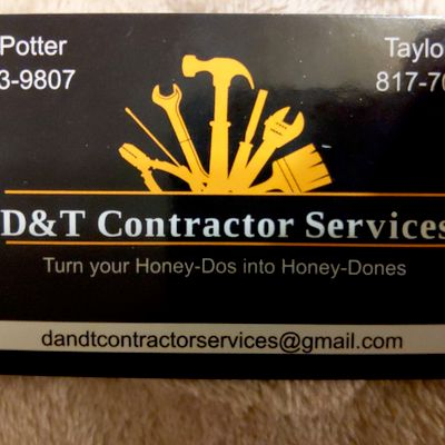 Avatar for D&T Contractor Services