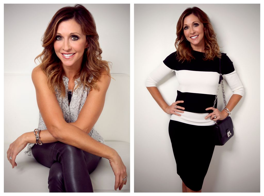 Branding photo shoot for a TV personality
