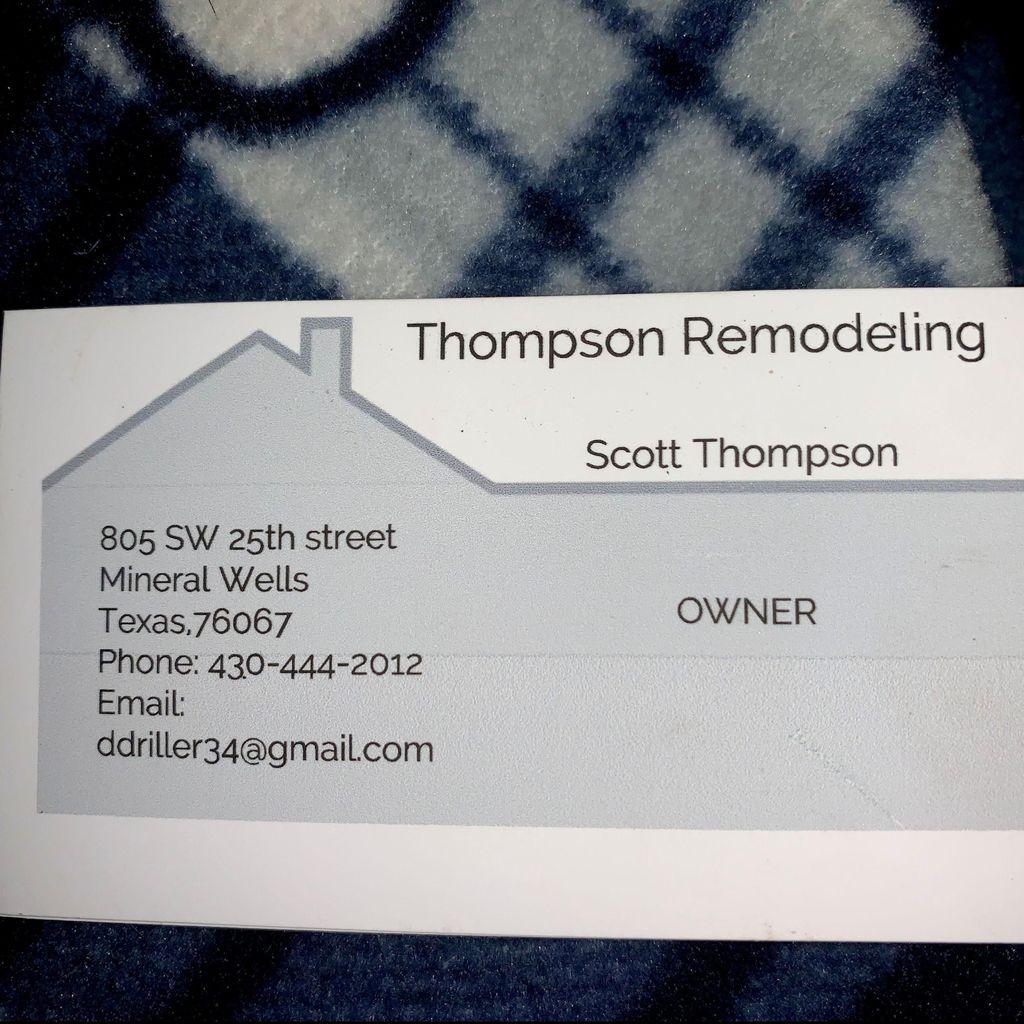 Thompson Remodeling Serves