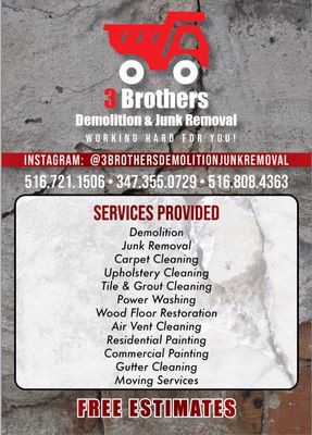 Avatar for 3 brothers demolition and junk removal