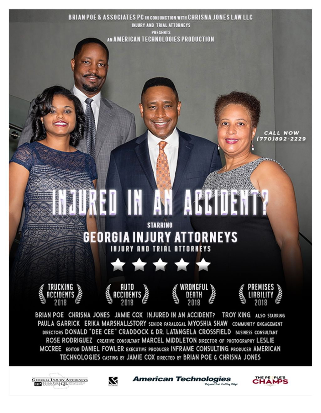 Georgia Bankruptcy Attorneys (Brian Poe, Esq.)