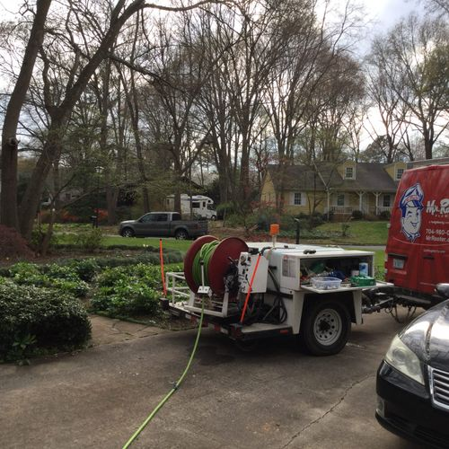 Mr Rooter Plumbing of Charlotte Kitchen Sink Unclog by Hydro Jetting