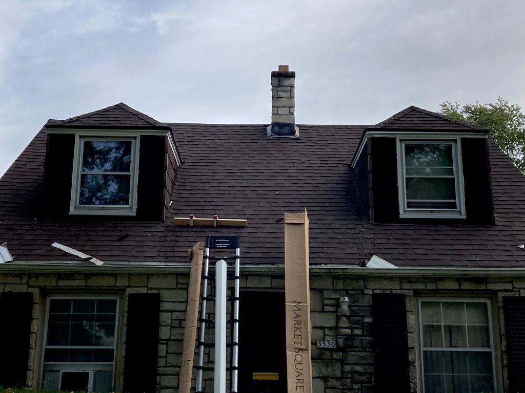 Replace rotted siding in dormers