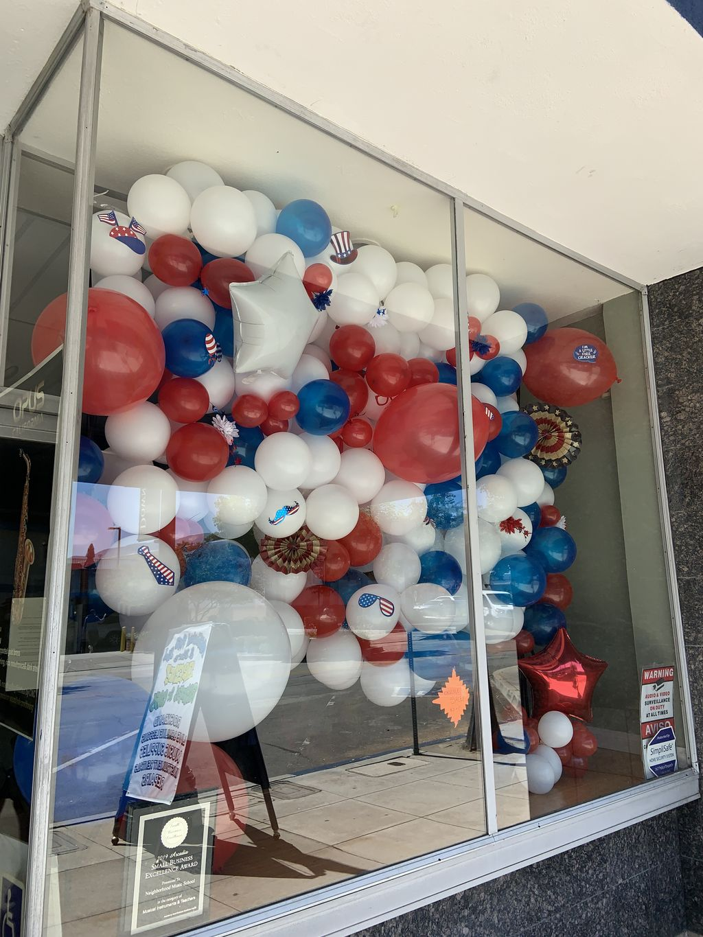 4th of July wall