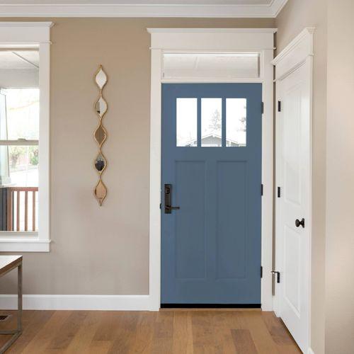 ProVia Entry Door in color: Blueberry