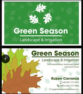 Avatar for Green Season Landscape & Irrigation Services
