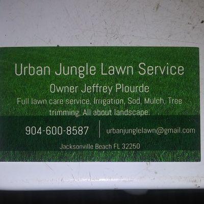 Avatar for Urban Jungle Lawn Service LLC