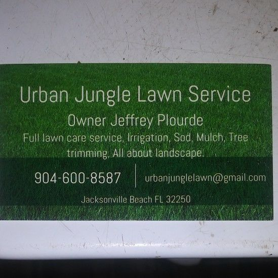 Urban Jungle Lawn Service LLC