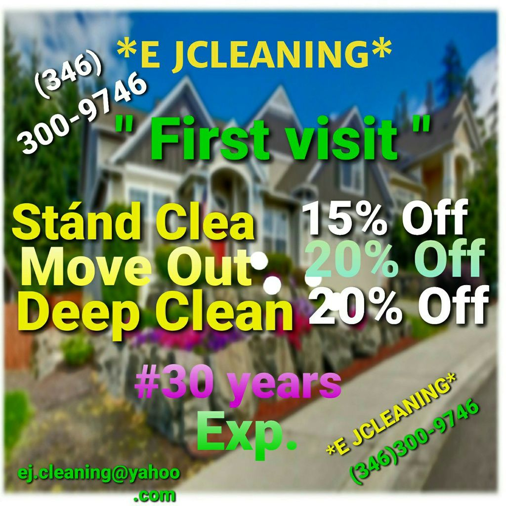 """Professional cleaning """" EJ CLEANING """""""
