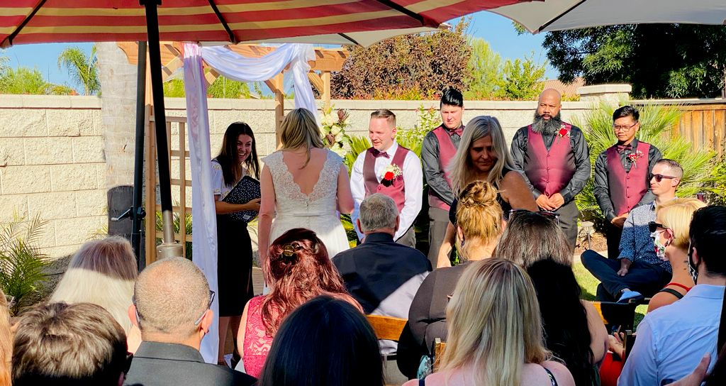 Wedding officiant services